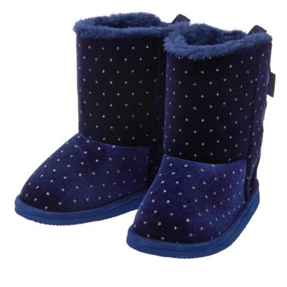 8c8346ec7f35 Crazy 8 Other - Crazy 8 Girls Cozy Sparkle Dot Boots with Bows 6